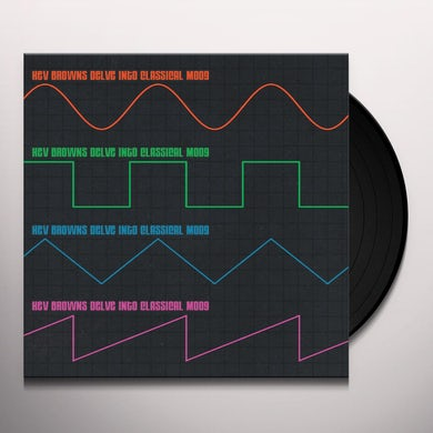 Kev Brown DELVE INTO CLASSICAL MOOG Vinyl Record