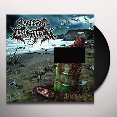 ASPHYXIATING ON EXCREMENT Vinyl Record