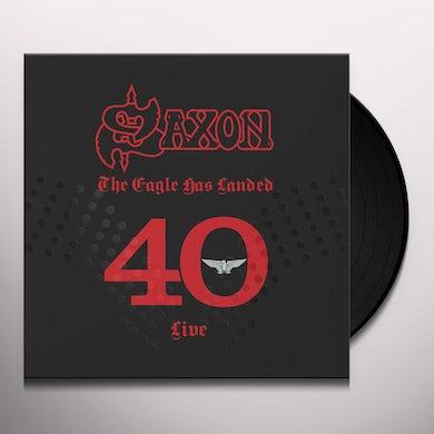 Saxon EAGLE HAS LANDED 40 (LIVE) Vinyl Record