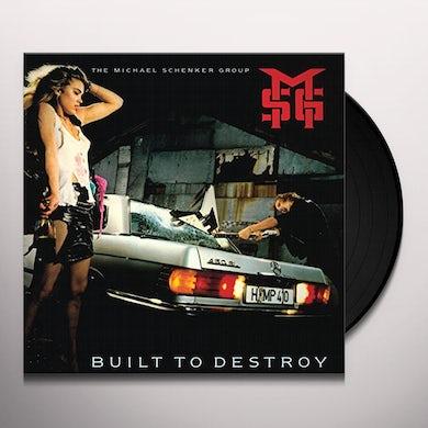 The Michael Schenker Group BUILT TO DESTROY Vinyl Record