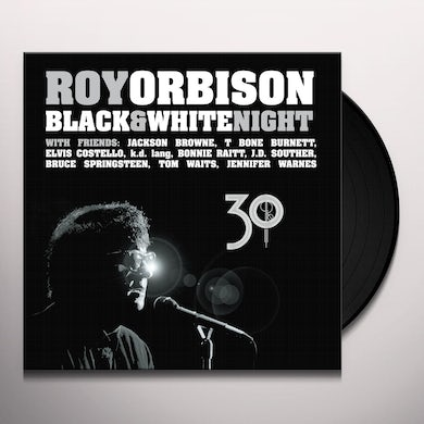 Roy Orbison BLACK & WHITE NIGHT 30 Vinyl Record