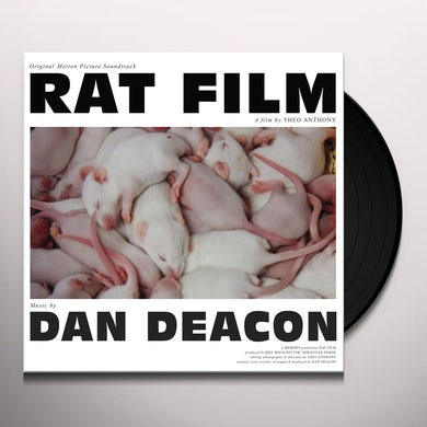 Dan Deacon RAT FILM (ORIGINAL FILM SCORE) Vinyl Record