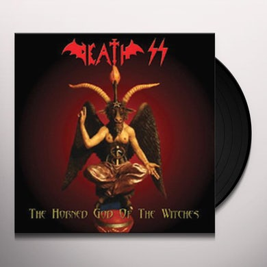Death Ss HORNED GOD OF THE WITCHES (CLEAR VINYL) Vinyl Record