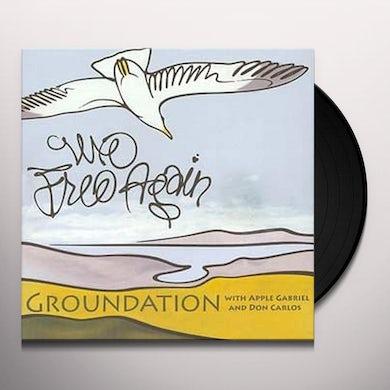 Groundation WE FREE AGAIN Vinyl Record