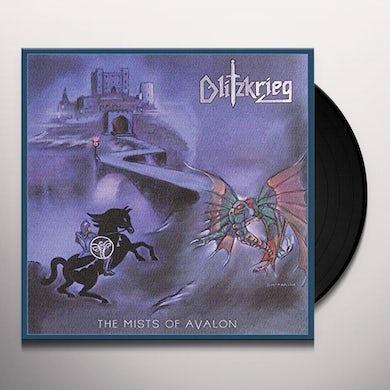 Blitzkrieg MISTS OF AVALON Vinyl Record