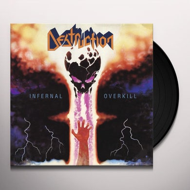 Destruction INFERNAL OVERKILL Vinyl Record