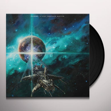 Flight A LEAP THROUGH MATTER (SILVER VINYL) Vinyl Record