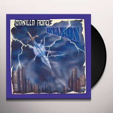 Manilla Road INVASION Vinyl Record