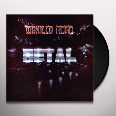 Manilla Road METAL Vinyl Record