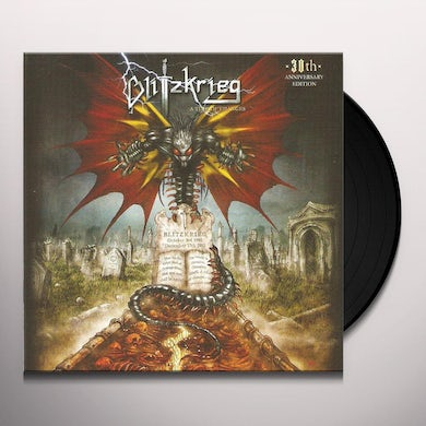 Blitzkrieg TIME OF CHANGES 30TH ANNIVERSARY EDITION Vinyl Record