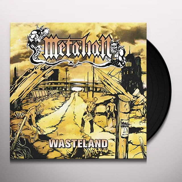 Metalian WASTELAND Vinyl Record