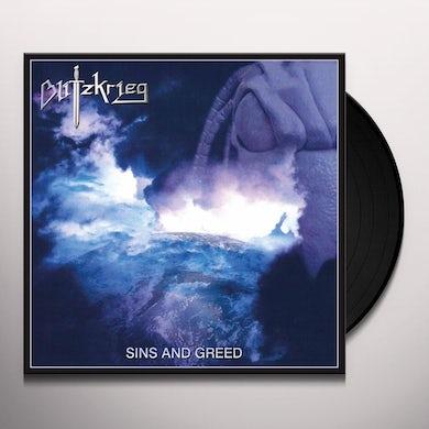 Blitzkrieg SINS & GREED Vinyl Record