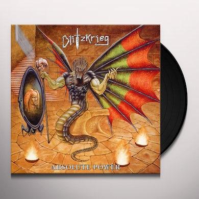 Blitzkrieg ABSOLUTE POWER Vinyl Record