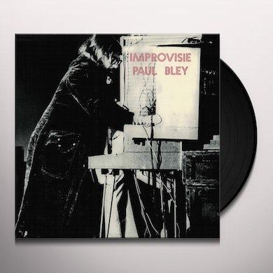 Paul Bley IMPROVISIE Vinyl Record