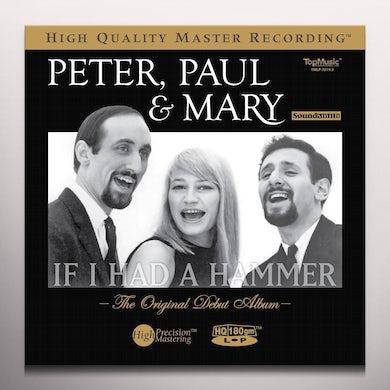 Peter Paul & Mary IF I HAD A HAMMER: ORIGINAL DEBUT ALBUM Vinyl Record