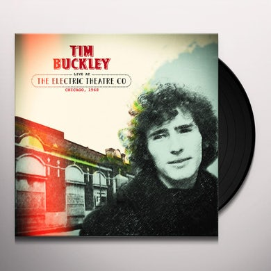 Tim Buckley LIVE AT THE ELECTRIC THEATRE CO CHICAGO 1968 Vinyl Record