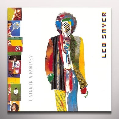 Leo Sayer LIVING IN A FANTASY Vinyl Record