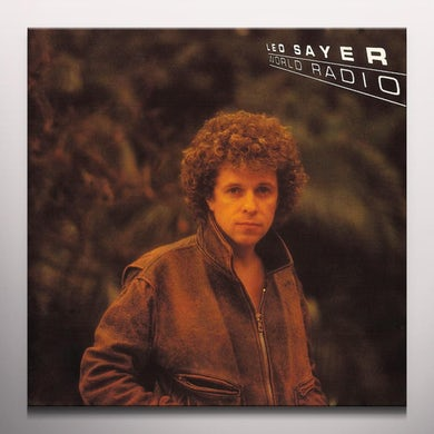 Leo Sayer WORLD RADIO Vinyl Record