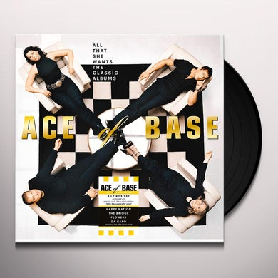 Ace of Base ALL THAT SHE WANTS: THE CLASSIC ALBUMS Vinyl Record