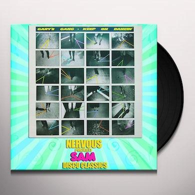 Gary'S Gang KEEP ON DANCING Vinyl Record