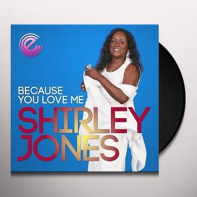 Shirley Jones BECAUSE YOU LOVE ME Vinyl Record