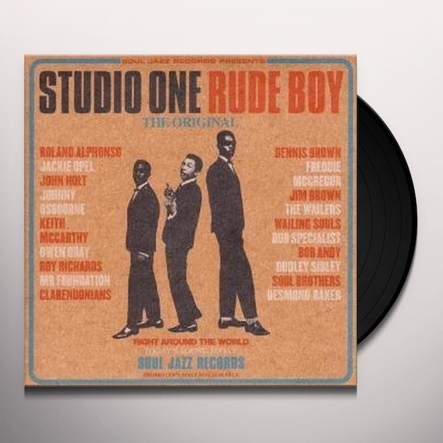 STUDIO JAZZ RECORDS PRESENTS (DLX) STUDIO ONE RUDE BOY Vinyl Record
