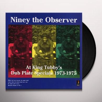 Niney The Observer AT KING TUBBYS Vinyl Record