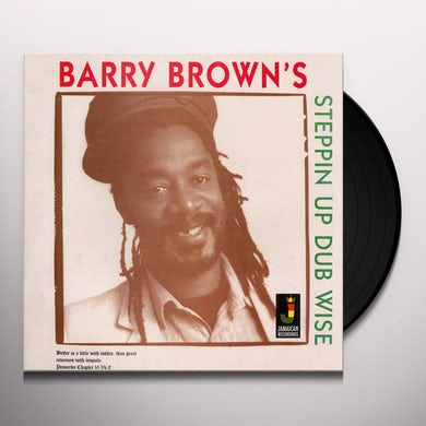 Barry Brown STEPPIN UP DUBWISE Vinyl Record