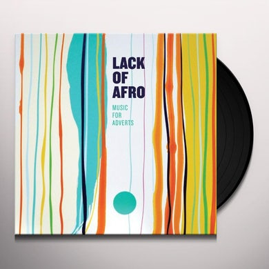 Lack Of Afro MUSIC FOR ADVERTS Vinyl Record