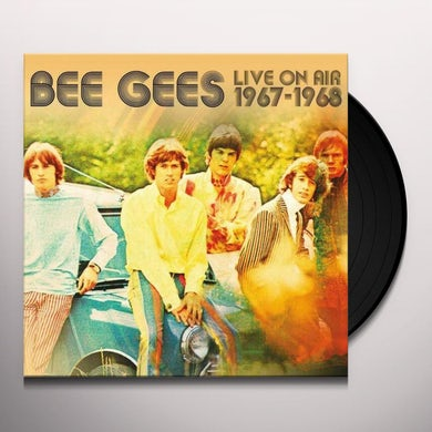 Bee Gees LIVE ON AIR 1967-1968 Vinyl Record