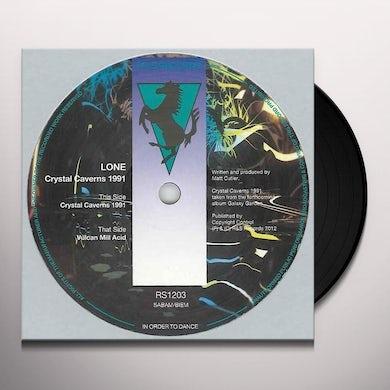 Lone CRYSTAL CAVERNS 1991 Vinyl Record