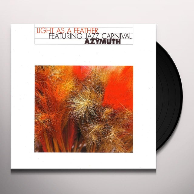 Azymuth LIGHT AS A FEATHER Vinyl Record