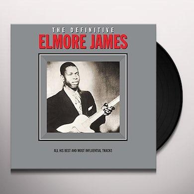 Elmore James DEFINITIVE COLLECTION Vinyl Record - UK Release