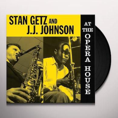 Stan Getz / J. J. Johnson AT THE OPERA HOUSE Vinyl Record