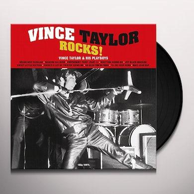 Vince Taylor ROCKS Vinyl Record