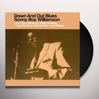 DOWN & OUT BLUES Vinyl Record
