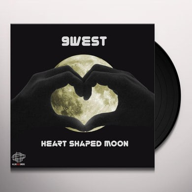 9west HEART SHAPED MOON Vinyl Record