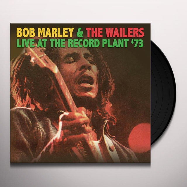Bob Marley LIVE AT THE RECORD PLANT '73 Vinyl Record