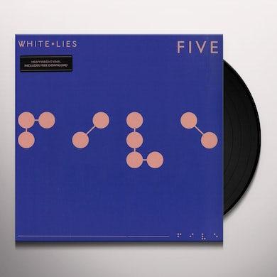 White Lies FIVE Vinyl Record