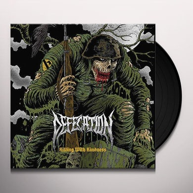 Defecation KILLING WITH KINDNESS Vinyl Record