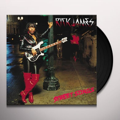 Rick James Street Songs (LP) Vinyl Record