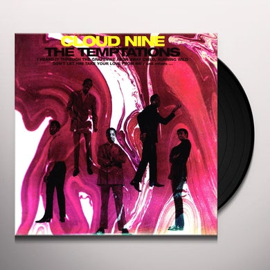 The Temptations CLOUD NINE Vinyl Record - 180 Gram Pressing, Reissue