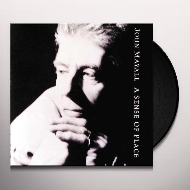 John Mayall & The Bluesbreakers SENSE OF PLACE Vinyl Record