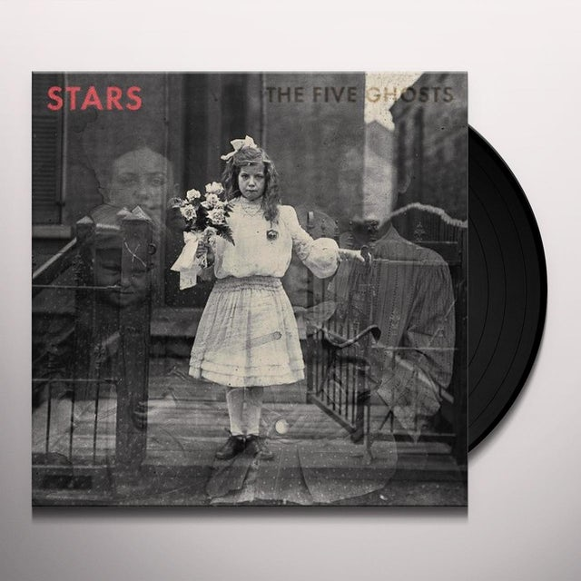 Stars FIVE GHOSTS Vinyl Record - 180 Gram Pressing, Digital Download Included