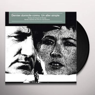Francois De Roubaix DERNIER DOMICILE CONNU / UN ALLER SIMPLE Vinyl Record