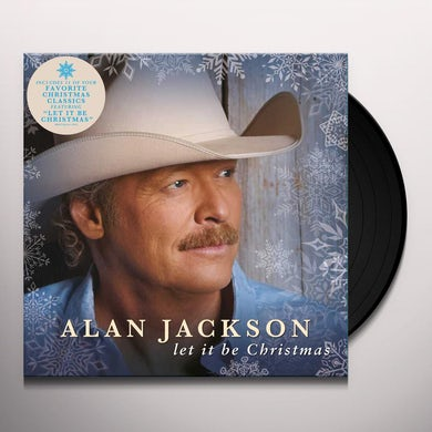 Alan Jackson Let It Be Christmas Vinyl Record
