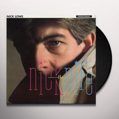 Nick Lowe NICK THE KNIFE Vinyl Record