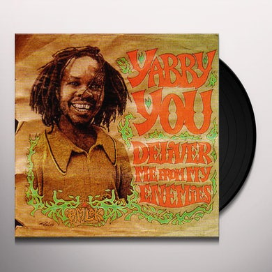 Yabby You DELIVER ME FROM MY ENEMIES Vinyl Record