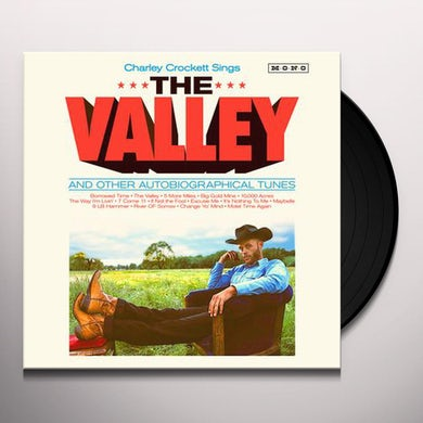Charley Crockett VALLEY Vinyl Record