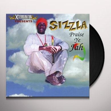 Sizzla PRAISE YE JAH Vinyl Record